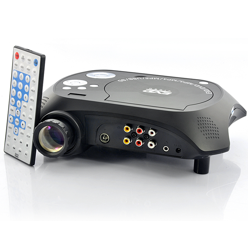 LED Multimedia Projector with DVD Player - 480x320, 20 Lumens, 100:1 OA1714